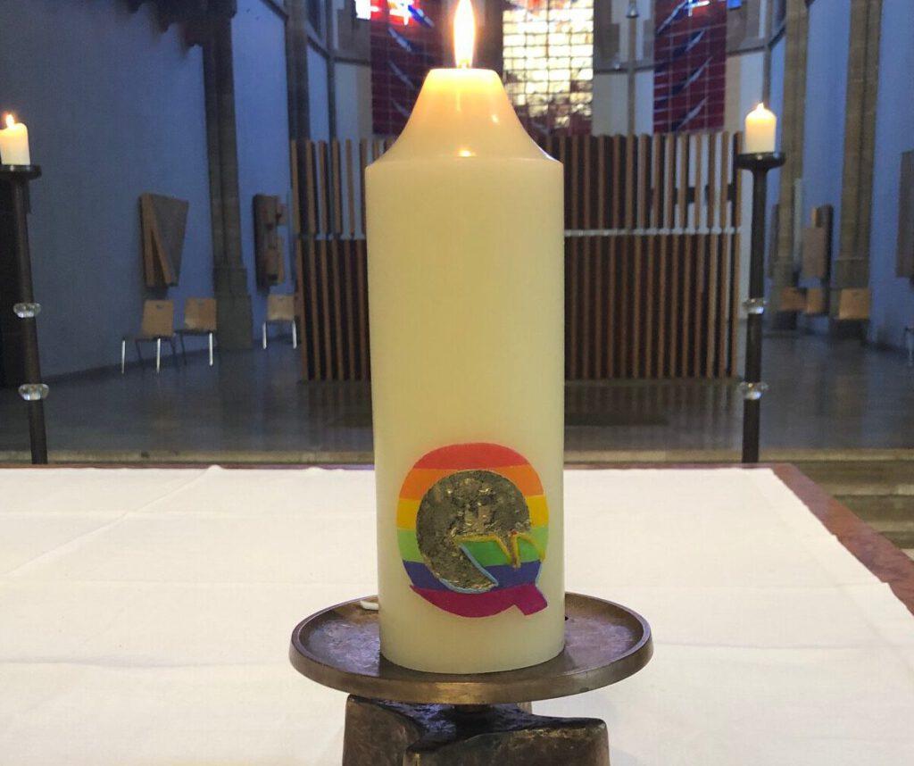 Unsere neue Kerze